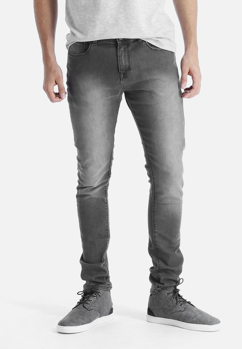 faded super skinny grey new look jeans. Black Bedroom Furniture Sets. Home Design Ideas