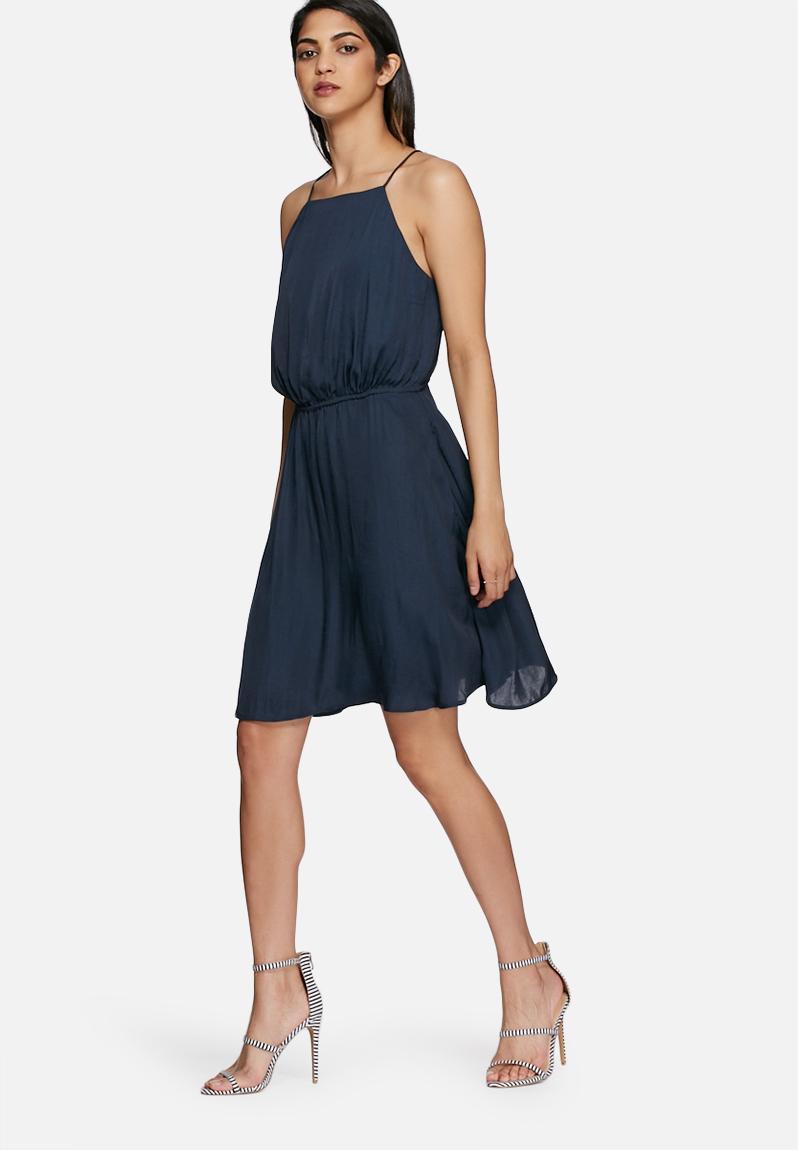 Sue String Back Dress Total Eclipse Vero Moda Occasion