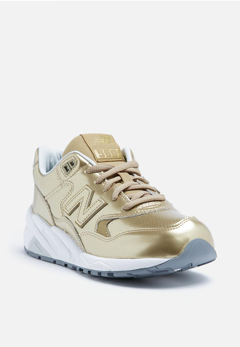 new balance wrt580mg frozen metallic gold new balance sneakers. Black Bedroom Furniture Sets. Home Design Ideas