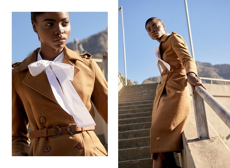 MILITARY TREND TRENCH COAT