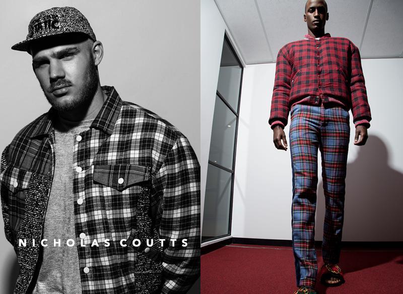 men's runway fashion NICHOLAS COUTTS
