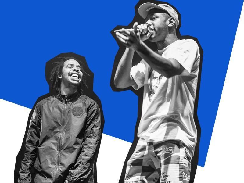 Tyler, the Creator and Earl Sweatshirt
