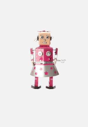 Play Things Wind-up Venus Robot Toys & LEGO Tin