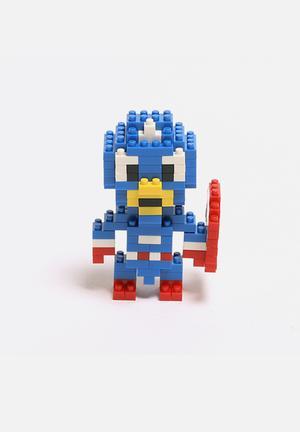 Diamond Blocks Captain America Toys & LEGO Plastic