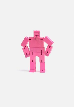 Areaware Cubebot Small Games & Puzzles Pink