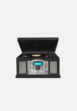 Crosley Troubadour Audio Black