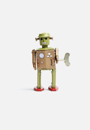 Play Things Wind-up Atomic Robot Man Toys & LEGO Tin