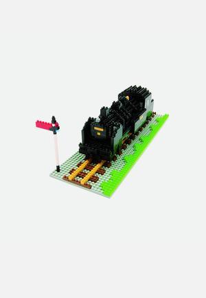 Nanoblock Nanoblock® – Steam Locomotive Toys & LEGO Plastic