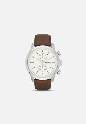 Fossil Townsman Watches Stainless Steel & Leather