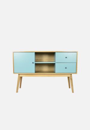 Sixth Floor Radius Sideboard Turquoise