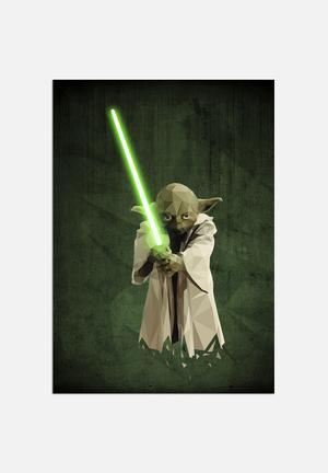 William Teal Yoda Art