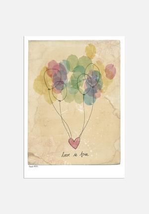 Sweet William Free Love Art