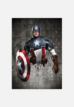 William Teal Captain America Art