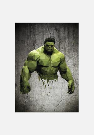 William Teal Hulk Art
