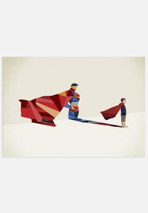 Jason Ratliff	 Walking Shadow - Superman Art