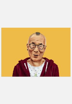 HIPSTORY Dalai Lama Art