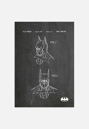 House Of Borders Batman Mask Art
