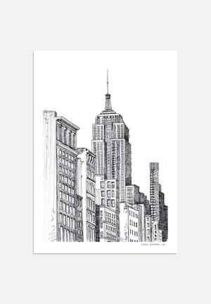 Claudia Liebenberg New York - Illustration Art