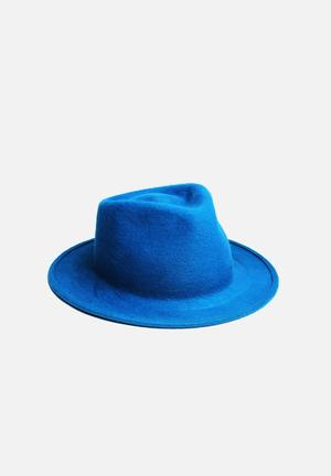 Simon And Mary Shape Shape Headwear Blue