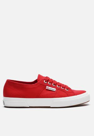 SUPERGA 2750 Cotu Classic Sneakers Red & White