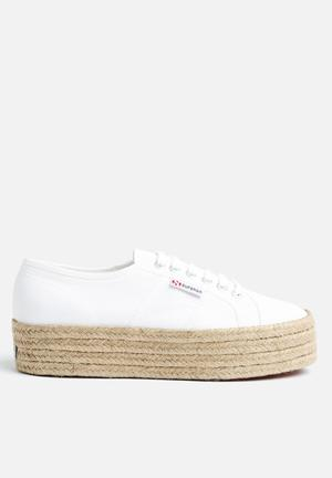 SUPERGA 2790 Espadrille Wedge Sneakers White